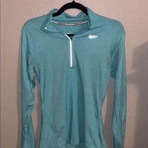 Teal Nike Zip up
